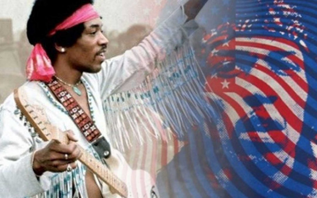 Jimi Hendrix – Star Spangled Banner LIVE at Woodstock
