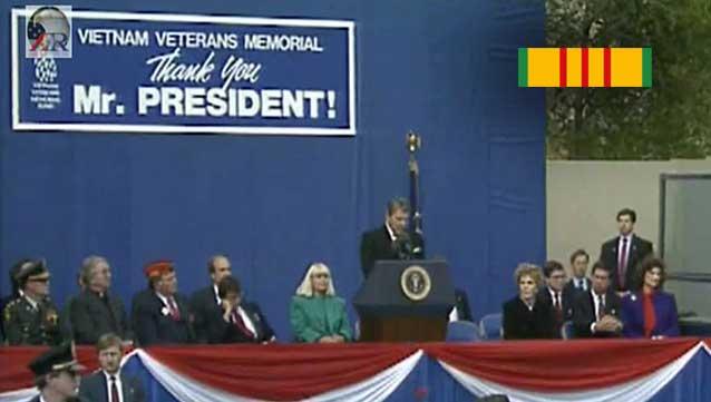 Ronald Reagan: Speech at the Vietnam Veterans Memorial