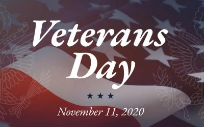 Veterans Day 2020 – Thank You For Your Service