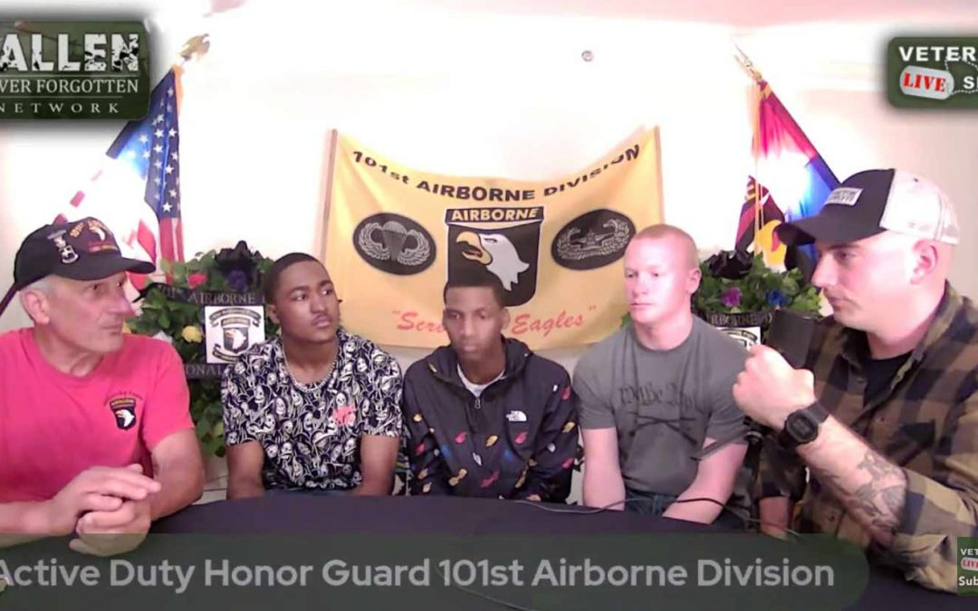 Active Duty 101st Honor Guard: Memorial Day Weekend 2021