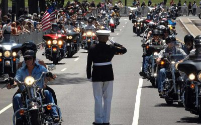 The Saluting Marine: The 24 Hour Memorial Day Salute in DC