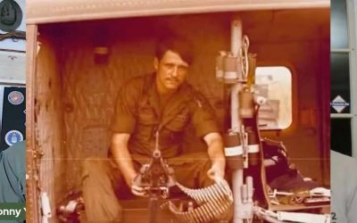 Huey Crew Chief Ed Hepler – In Flight the Moment the War Ended