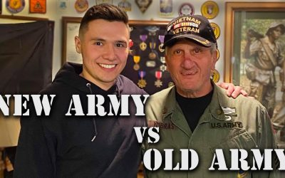 Vietnam Vet and Active Duty Son Discuss Changes in the US Army