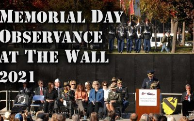 """Memorial Day Ceremony – Observance at """"The Wall"""""""