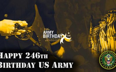 US Army Honors it's 246th Birthday with a Wreath Laying Ceremony