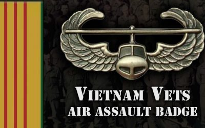Vietnam Vets Awarded Air Assault Badge 50 Years Later