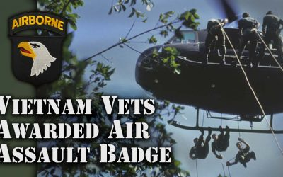 Air Assault Badge for Vietnam Vets – Week of the Eagles