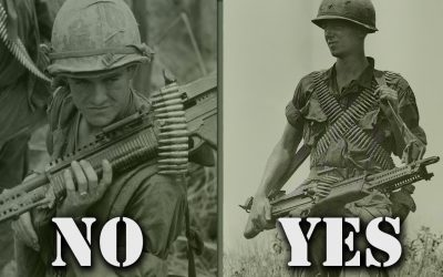 Why Vietnam Vet NEVER Humped M60 on His Shoulder