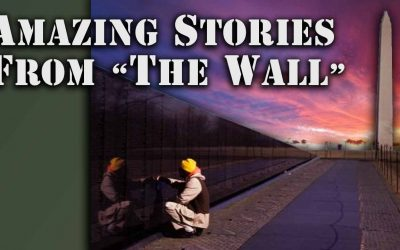 """Vietnam Vet Leaves His Arm at """"The Wall"""""""